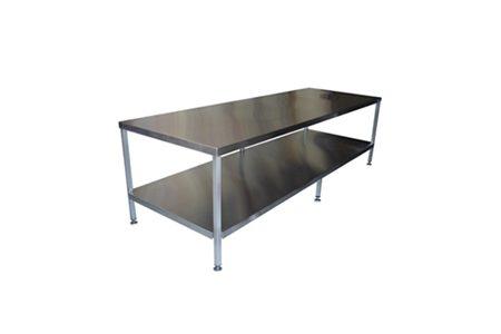 Mesa De Aço Inox Para Cozinha Industrial 11 4168 3160 Alphainox